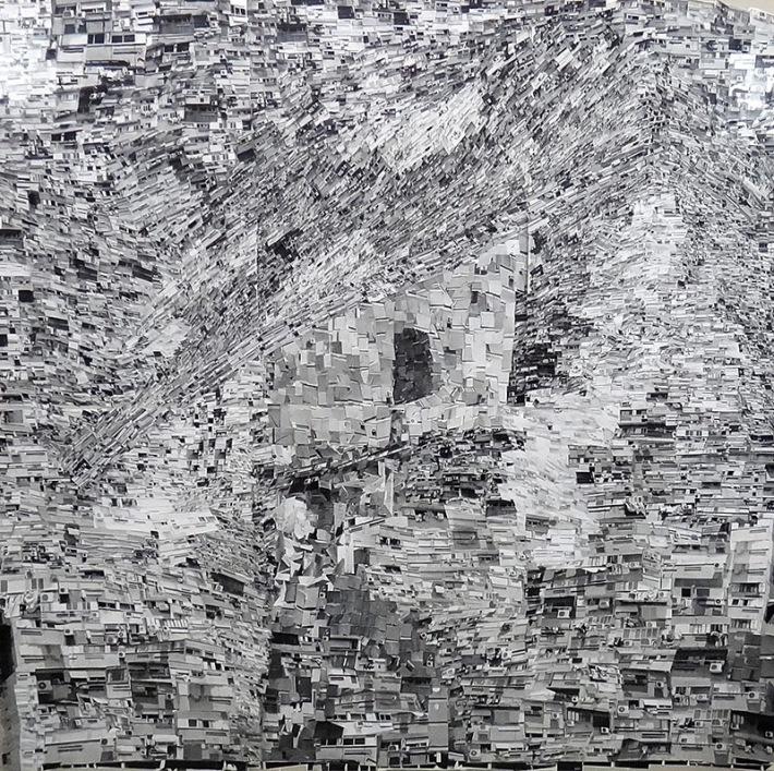 Ha'poel Ha'eivri (the hebrew worker) Yochana Ratner St. Haifa After Moi Ver. Silver Gelatine Prints Collage, 215x220cm, 2014